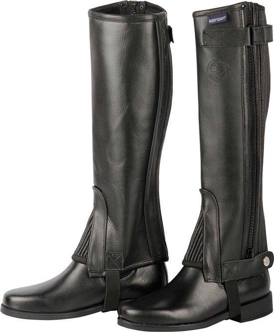 Harry's Horse Minichaps soft leather zwart 10 jr