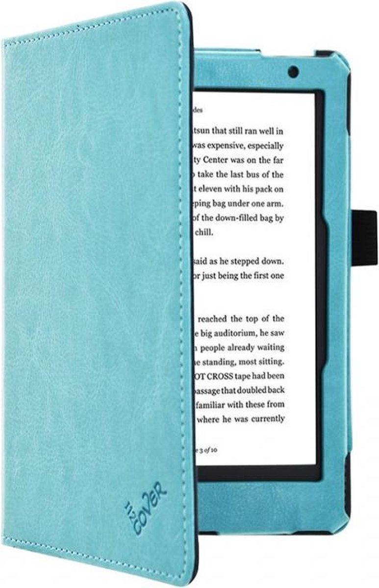 Kobo Aura 2nd edition 6 inch eReader Sleep Cover, Premium Business Case, Betaalbare blauwe Hoes-Slee
