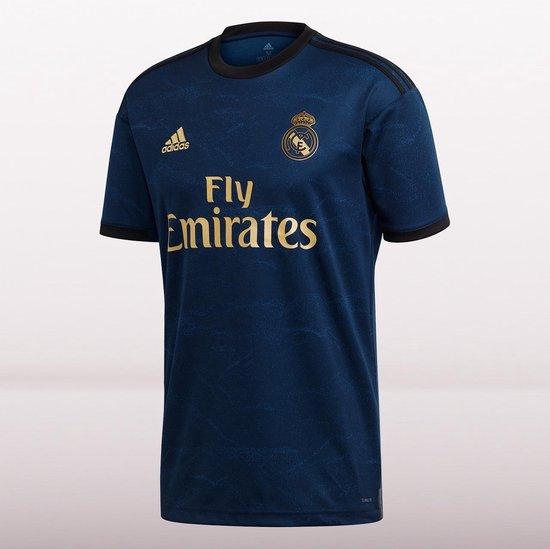 adidas Real Madrid Uitshirt 2019-2020 Heren - Marine-Multicolour - Maat M