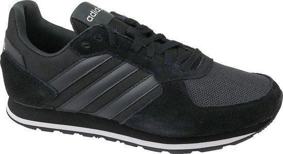 adidas 8K DB1742, Vrouwen, Zwart, Sneakers maat: 42 2/3 EU