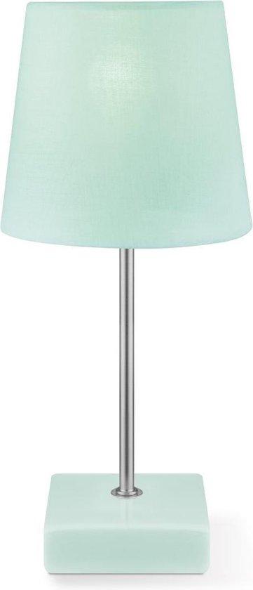 Light Depot - Tafellamp Arica - ↕ 27 cm - Mintgroen - Kinderkamer - Nachtkastje - E14