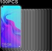 100 PCS 0.26mm 9H 2.5D Explosieveilige geharde glasfilm voor Huawei Nova 4