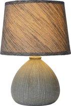 Lucide RAMZI - Tafellamp - Ø 18 cm - 1xE14 - Grijs