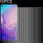 Let op type!! 10 PCS 0 26 mm 9H 2.5D explosieveilige getemperd glas Film voor Galaxy A8s