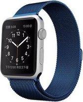 By Qubix Milanees bandje - Apple Watch Series 1/2/3/4 (42&44mm) - Blauw