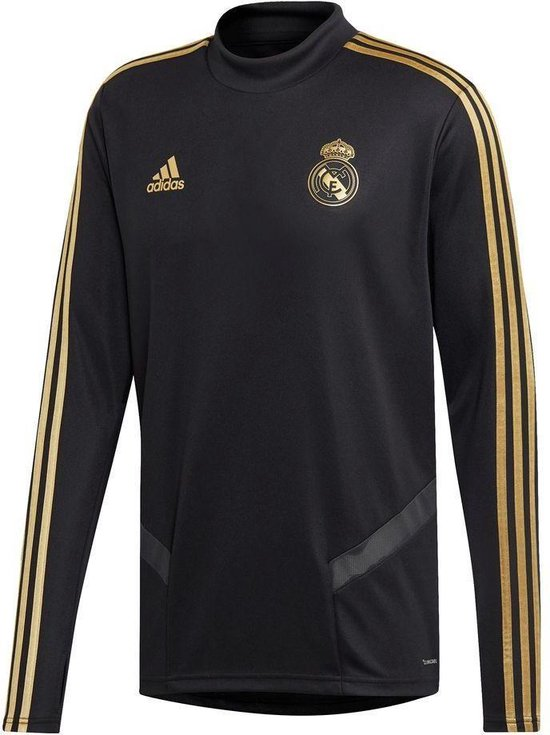 adidas Real Madrid Trainingstop 2019/2020 Heren - Zwart - Maat M