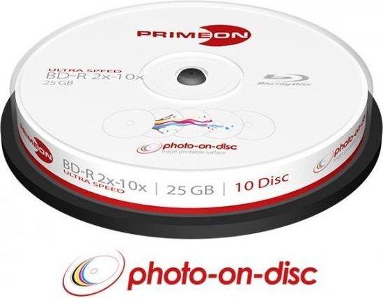 Primeon 2761309 25GB BD-R Lees/schrijf blu-ray disc