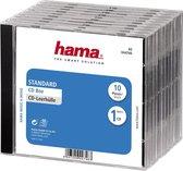 Hama CD Box - 10 Pak / Transparant