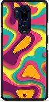 LG G7 Hardcase Hoesje Retro Colors