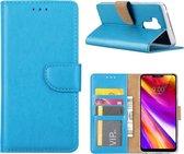 LG G7 - Bookcase Turquoise - portemonee hoesje