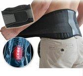 Orthopedisch Toermalijn Infrarood Massage Zelfwarmend - Magneet - Rugpijn - Rugklachten - Rugband - Rugbrace - Beter Slapen - L-XL