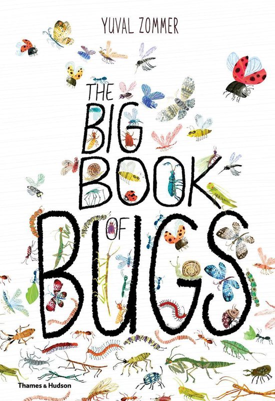 Boek cover The Big Book of Bugs van Yuval Zommer (Hardcover)