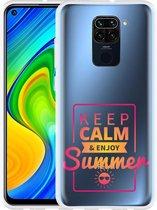 Xiaomi Redmi Note 9 Hoesje Summer Time