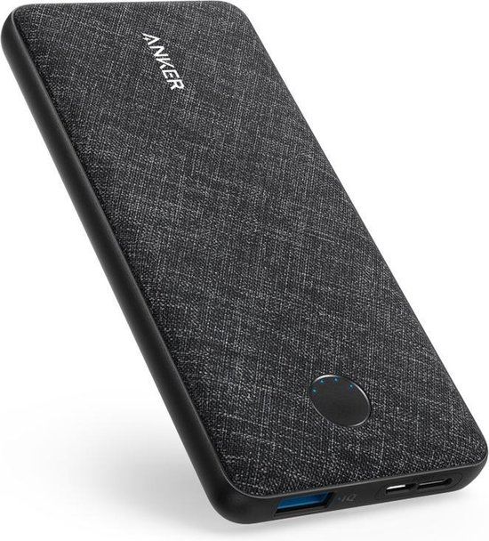Anker PowerCore Metro Slim 10000 mAh Powerbank - Zwart