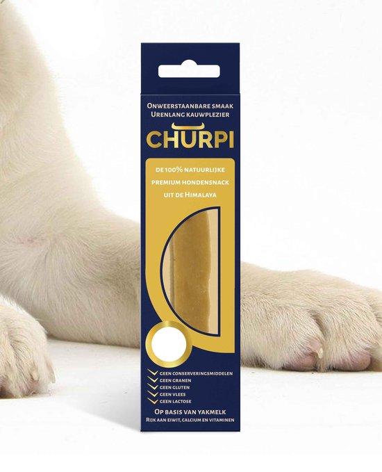 Churpi - langdurige yak melk snack voor honden - X-Large 220 gram