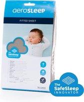 AeroSleep® SafeSleep hoeslaken - bed - 140 x 70 cm -  donkergrijs