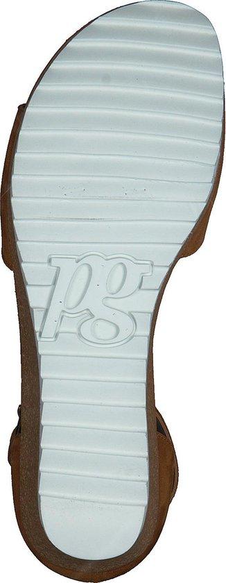 Paul Green Dames Sandalen 7386 - Cognac Maat 37 1WriFF
