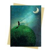 Catrin Welz-Stein: Chasing the Moon Greeting Card