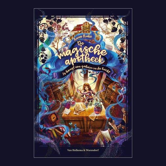 Boek cover De magische apotheek 1 van Anna Ruhe (Onbekend)