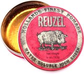 Reuzel Hf Pomade Water Soluble High Sheen - Red 113 gr
