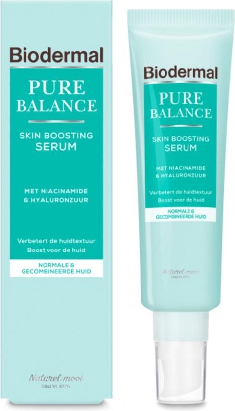 Biodermal Pure Balance Skin Boosting Serum - Serum met hyaluronzuur en niacinamide - 30ml