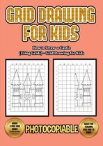 How to Draw a Castle (Using Grids) - Grid Drawing for Kids