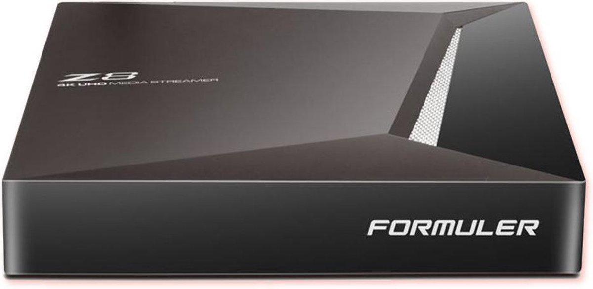 Formuler Z8 Android IPTV Set Top Box met 4K beeldondersteuning op 60 fps | hoogwaardige IPTV ontvanger & Android TV Box