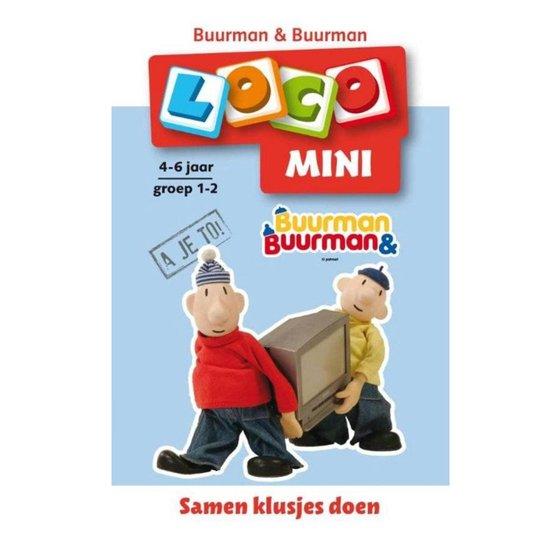 Buurman & Buurman - Loco Mini 4-6 jaar groep 1-2 - Noordhoff  