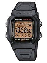 CASIO - W-800HG-9AVES - CASIO Collection - horloge - Mannen - Zwart - Kunststof Ø 36 mm