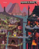 GBeye Minecraft World Poster 40x50cm