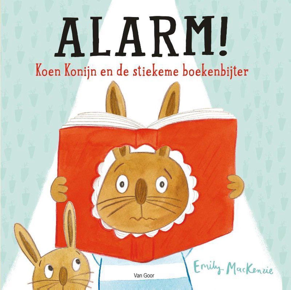 bol.com | Alarm! Koen Konijn en de stiekeme boekenbijter, Emily MacKenzie | 9789000373390 | Boeken