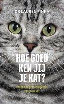 Omslag Hoe goed ken jij je kat?
