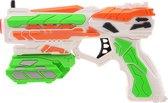 Tack Pro® Crow I set met 14 darts en accesoires, 18cm