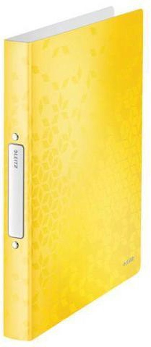 Leitz Ringbinder Leitz WOW A4 PP 2RR 25mm yellow