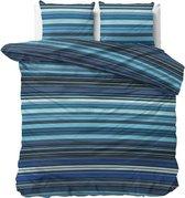 Sleeptime James - Dekbedovertrekset - Tweepersoons - 200x200/220 + 2 kussenslopen 60x70 - Blauw