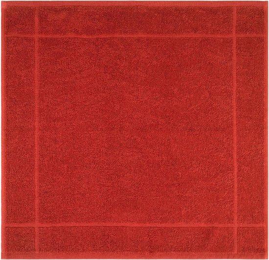 Clarysse Keukendoek Terra 50x50cm 6 stuks