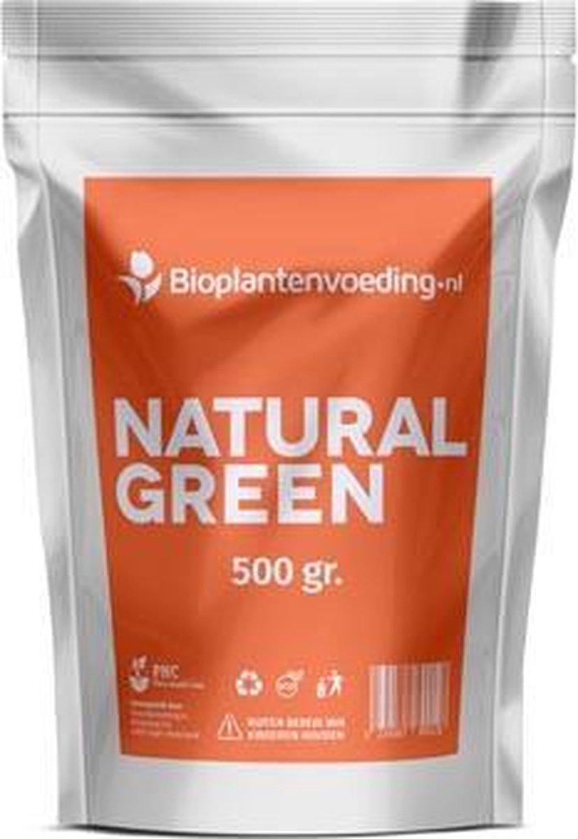 Natural Green Bladmeststof - 500 gram - Verbetert de vitaliteit en weerstand - Hogere opbrengst van oogst - Herstelt bladkleur - Voorkomt ziektes