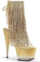 Pleaser Enkellaars -37 Shoes- ADORE-1017RSFT US 7 Goudkleurig