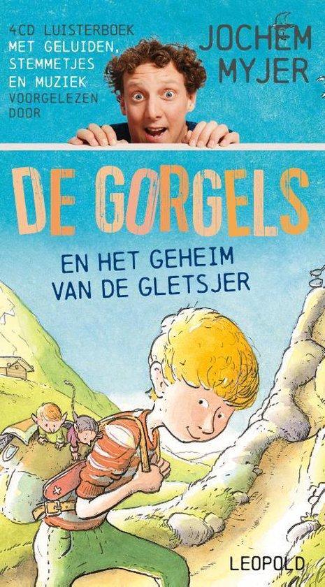 Boek cover Gorgels  -   De Gorgels en het geheim van de gletsjer 4cd van Jochem Myjer (Onbekend)