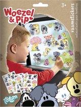 Woezel & Pip raamstickers - educatief speelgoed