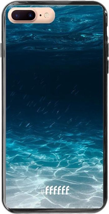 iPhone 7 Plus Hoesje TPU Case - Lets go Diving #ffffff