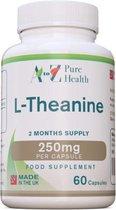 L-Theanine 250mg, 60 Veg-Capsules