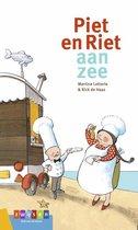AVI groeiboeken  -   Piet en Riet aan zee