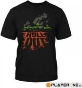 WORLD OF TANKS - T-Shirt Roll Out (L)