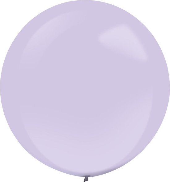 Amscan Ballonnen 60 Cm Latex Lila 4 Stuks