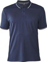 Tenson Poloshirt Zerio Heren Polyester Donkerblauw Maat 3xl