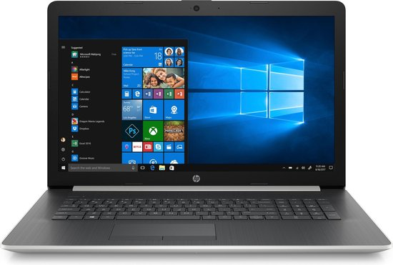 HP 17-by2049nb - Laptop - 17.3 Inch - Azerty