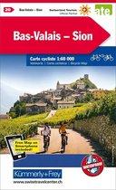 Sion / Bas-Valais cycle map