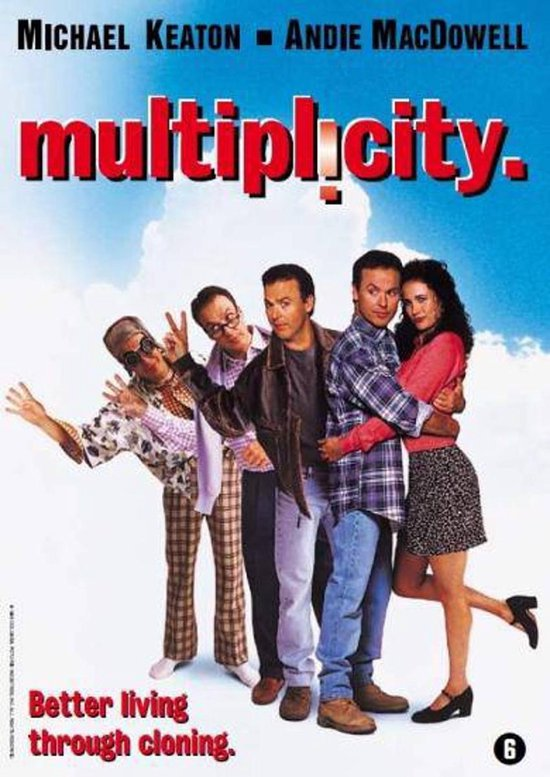 Cover van de film 'Multiplicity'