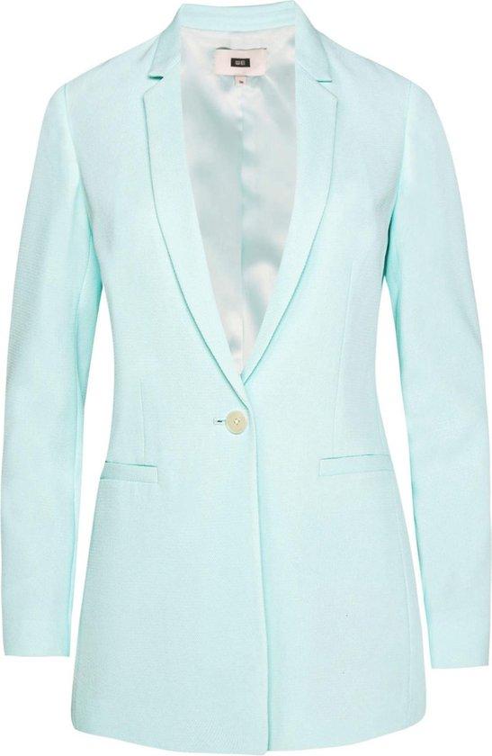 WE Fashion Dames regular fit blazer met structuur Maat 3XL (46)